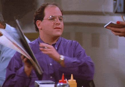 George Seinfeld by George Costanza Gif