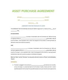 Template For Purchase Agreement by 37 Simple Purchase Agreement Templates Real Estate Business