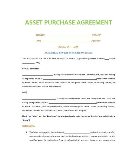 purchase order contract template 37 simple purchase agreement templates real estate business