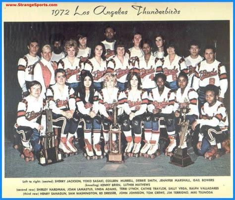 Los Angeles Thunderbirds Roller Derby | los angeles thunderbirds roller derby stars 1972