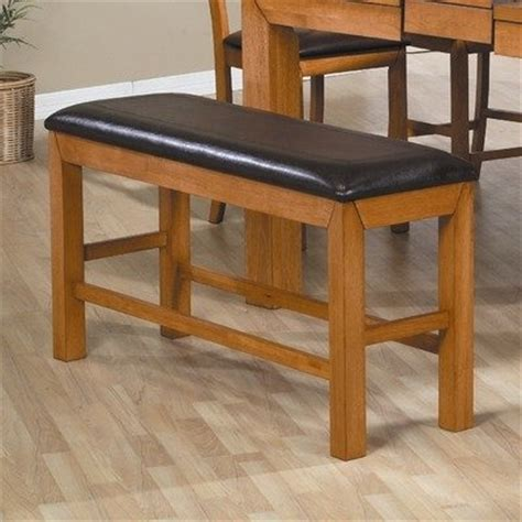 amazon com chapman counter height bench in caramel home