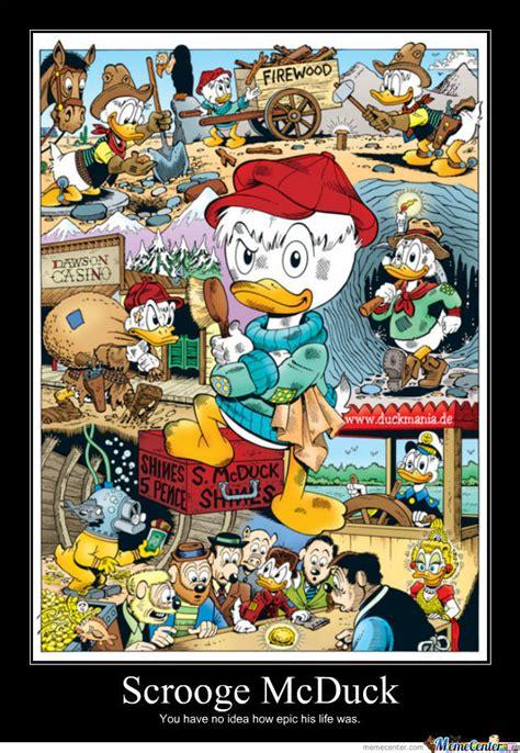 Scrooge Mcduck Meme - scrooge mcduck by captainmcduck meme center