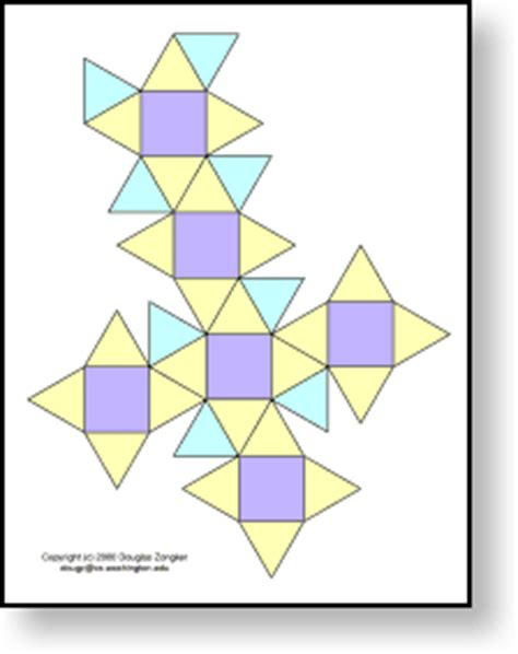 How To Make A Polyhedron Out Of Paper - isotropic org gt polyhedra models