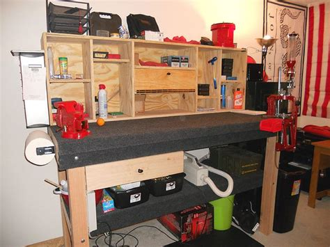 rcbs reloading bench plans reloading room pics page 11 man cave ideas pinterest