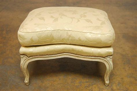 bergere chair and ottoman louis xv wingback bergere chair and ottoman for sale at