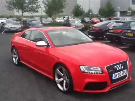 Audi Rs5 2012 For Sale by Audi Rs5 For Sale At Stafford Audi Youtube
