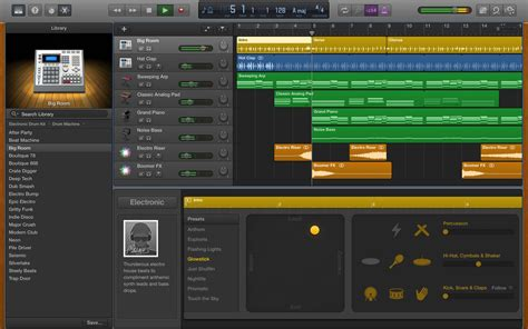 Garage Band Songs by Garageband For Os X Gets Its Edm Hip Hop And Funk On