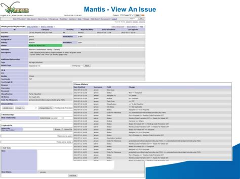 mantis workflow mantis code deployment process