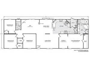 fleetwood manufactured home floor plans carriage manor ii 28764r fleetwood homes