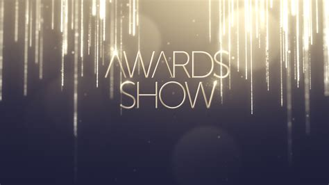 Awards Show After Effects Project Files Videohive Awards Presentation Template