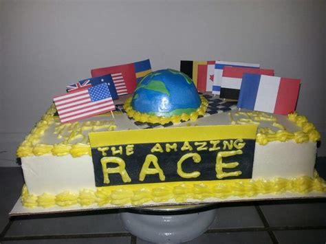 Amazing Race Decorations by Amazing Race Cake Tasty Treats By