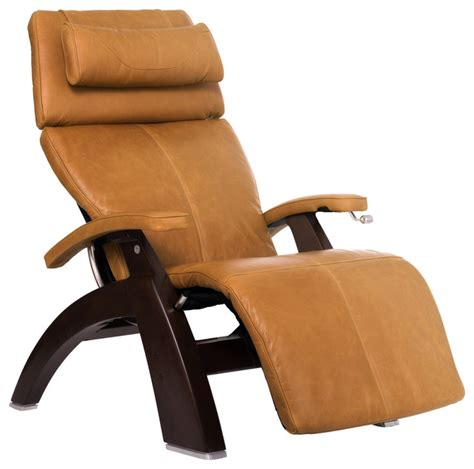 Zero Gravity Recliner Leather Human Touch Classicplus Premium Leather Zero Gravity Walnut Recliner Espresso View In