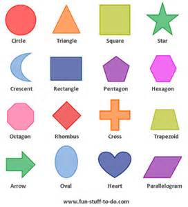 shapes homework