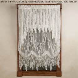 Lace Valance Curtains Wisteria Arbor Lace Valances And Curtain Panels