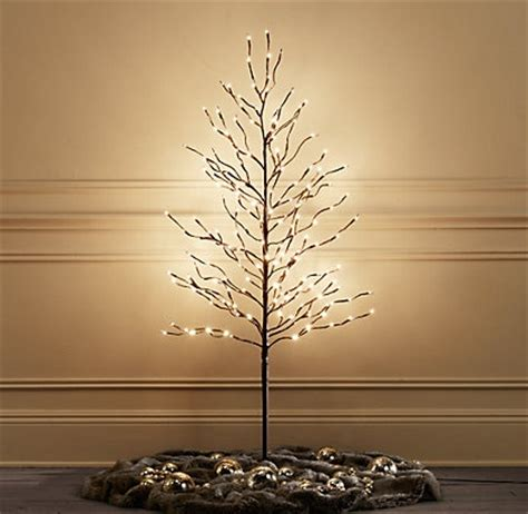 starlit trees restoration hardware christmas ideas