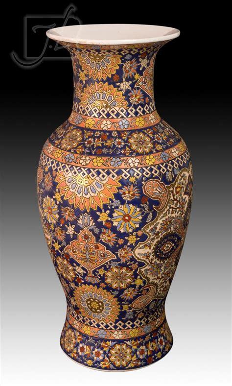 Ceramic Vase Designs by Ceramic Vase W Geometric Design