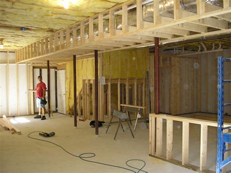 how to finish an basement johnson construction finished basement gallery