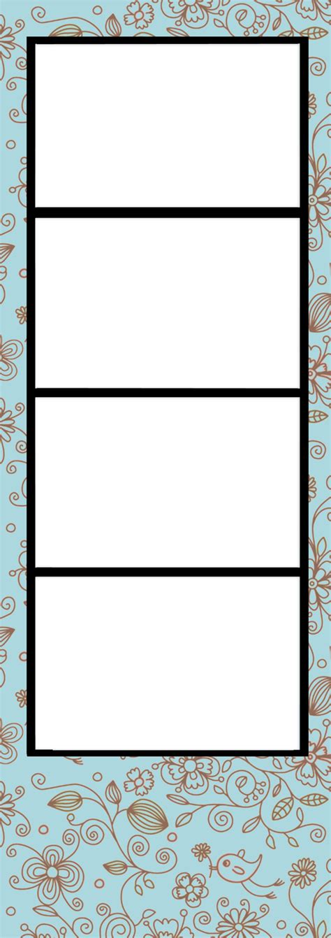 Photo Booth Template By Blissfullimaging On Deviantart Free Photo Templates