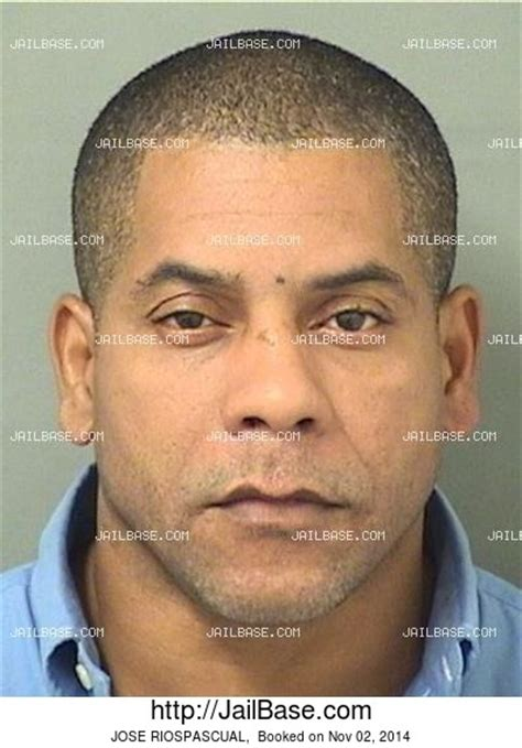 Pbso Arrest Records Jose Riospascual Arrest History