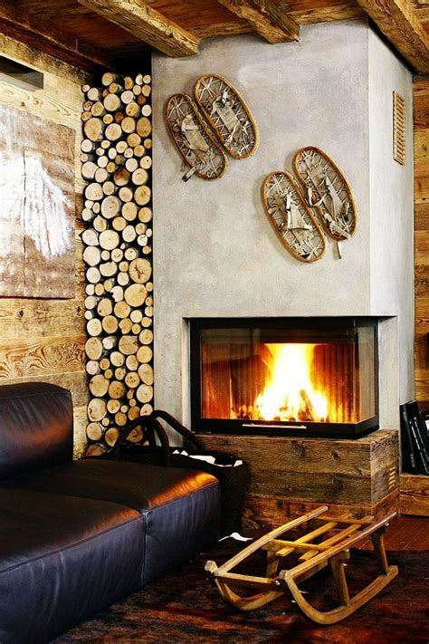 A Fireplace Store by Modern Fireplace Log Store Ezzo Meleres In Cortina D Ezzo Italy By Gianpaolo Zandegiacomo