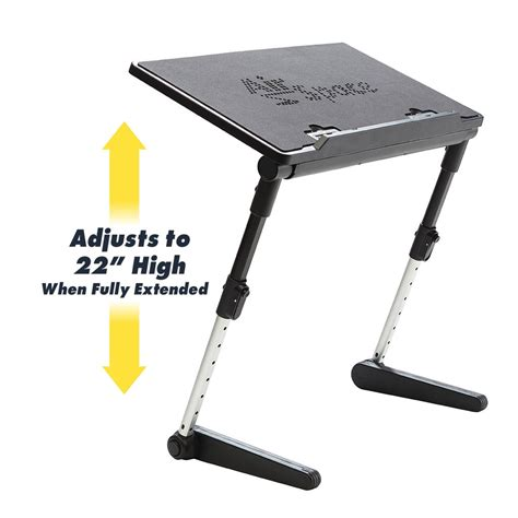 Adjustable Desk For by Air Space Adjustable Laptop Desk Bulbhead