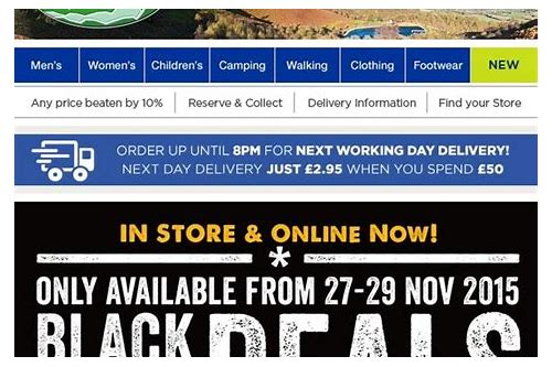 go outdoors black friday deals