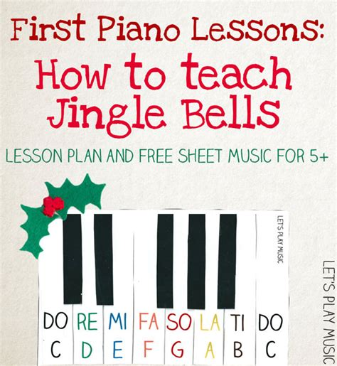 how to play piano a beginnerã s guide to learning the keyboard and techniques books jingle bells easy piano sheet let s play