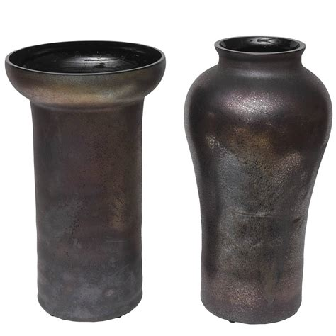 Oversized Vases Sale by Oversized Cenedese Scavo Glass Vases For Sale At 1stdibs