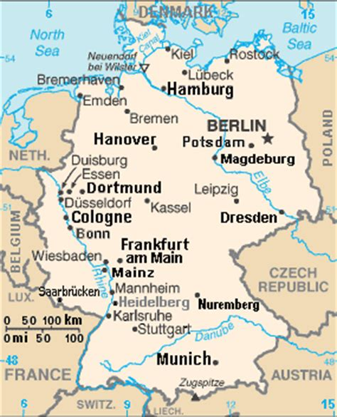labeled map of germany file germany cia map extended gif wikimedia commons