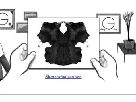 doodle rorschach hermann rorschach doodle has us staring latimes