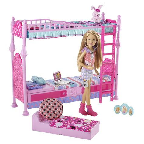 toys for the bedroom barbie toys sisters sleeptime bedroom and stacie doll