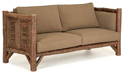 rustic sofa 1222 by la lune collection rustic sofas