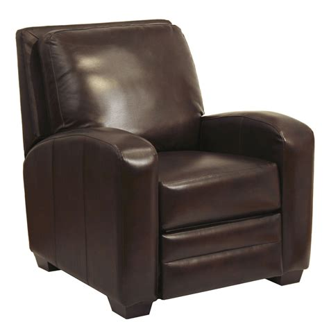 chocolate recliner avanti chocolate leather recliner from catnapper