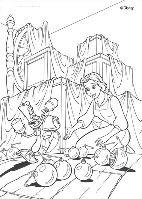 beauty and the beast castle coloring pages enchanted castle coloring pages hellokids com