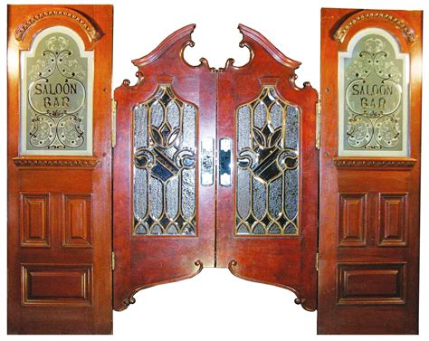 swinging doors saloon auction report monumental mahogany front and back bar