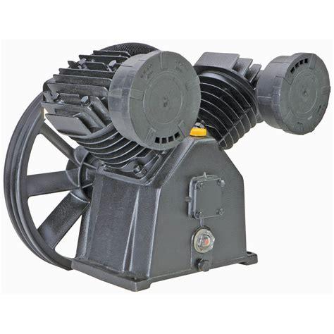 hp  psi twin cylinder air compressor pump
