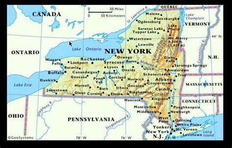 map of new york area rv for 5 october 2010