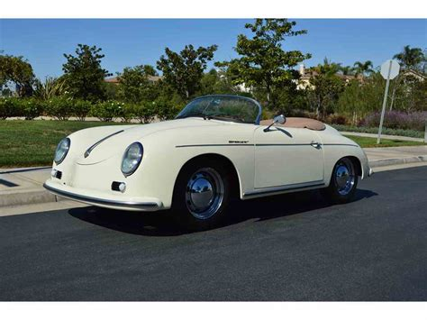 porsche california speedster 1957 porsche speedster for sale classiccars com cc 771989