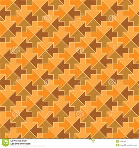 seamless arrow pattern seamless vector pattern arrows stock vector