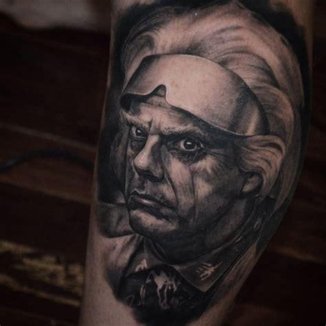 doc tattoo doc brown portrait best ideas gallery