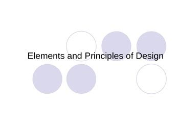 design elements and principles ppt elements and principles of interior design powerpoint by