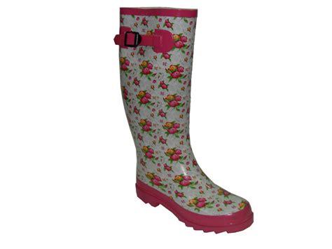 flower pattern boots china ladies flower pattern rubber boots china rain