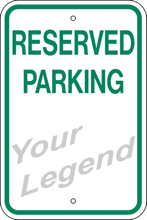 Reserved Parking Signs Pictures To Pin On Pinterest Pinsdaddy Printable Reserved Parking Sign Template