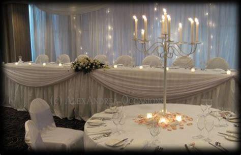 table draping for weddings wedding draping london hertfordshire essex