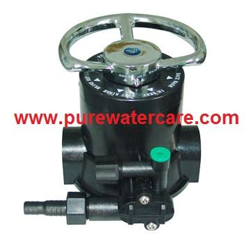 kepala softener 3 way valve
