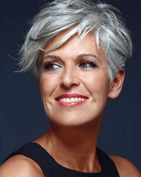 short haircuts for gray hair over 50 hairstyles on pinterest over 50 short haircuts and