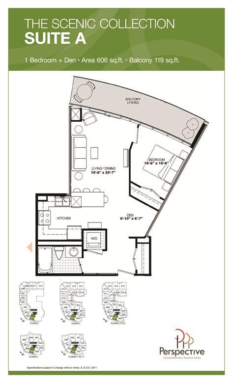 floor plan and perspective perspective condos talkcondo