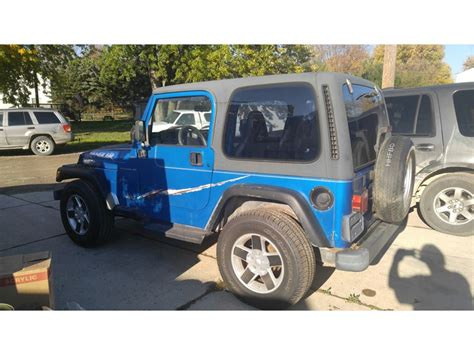 Jeeps For Sale In Michigan 1999 Jeep Wrangler For Sale By Owner In New Baltimore Mi