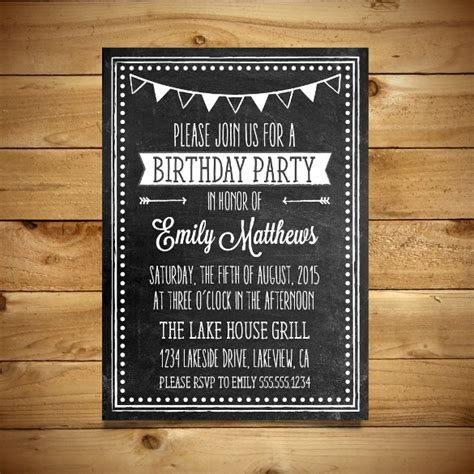 free editable birthday invitation cards templates 18 ms word format birthday templates free free
