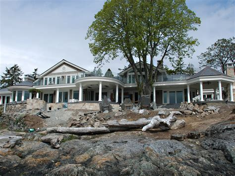 waterfront colonial home unison windows